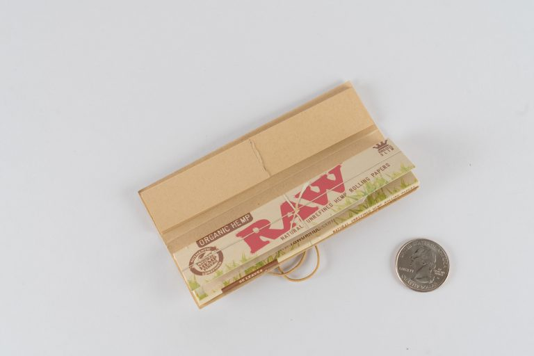 Organic Hemp King Sized Raw Papers available from the DispensarySource.com. Dispensary supplies and paraphernalia at unbeatable prices.