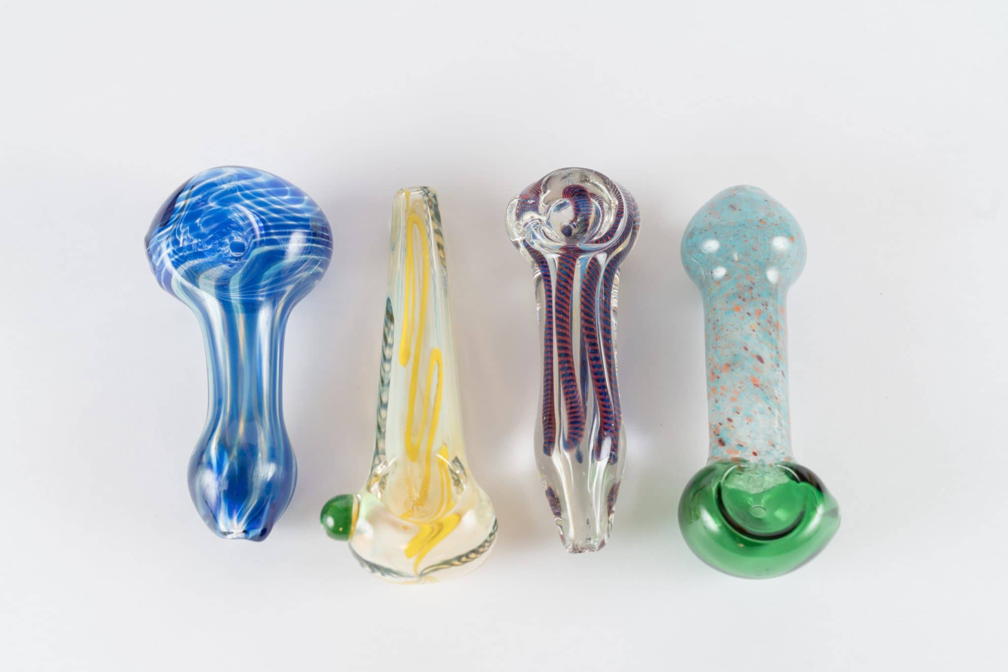 Three inch hand pipes for dispensary supplies from the Dispensary Source out of Los Angeles. For pricing, visit DispensarySource.com